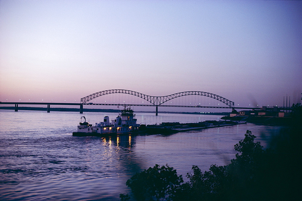 Mississippi River, Memphis, Tennessee, United States of America (U.S.A.), North America