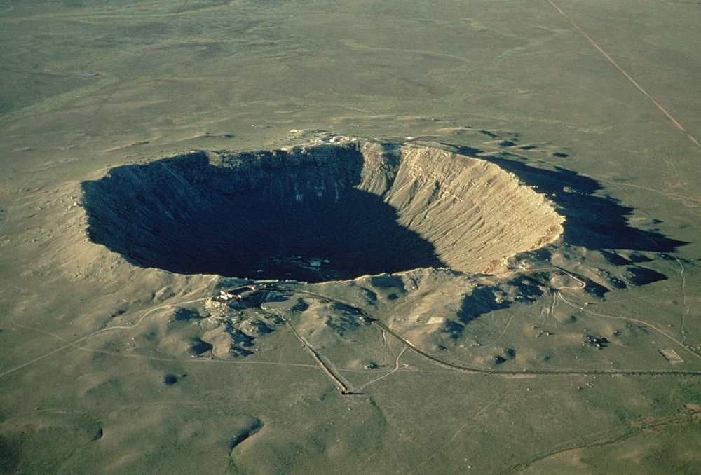Meteor crater, the largest known in the world, Arizona, United States of America, North America - 399-1173