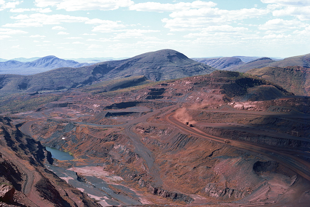 Tom Price Iron Ore Mines, Western Australia, Australia, Pacific - 399-4401