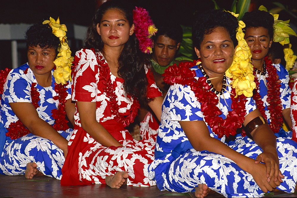 Aggie Brey's feast night, Apia, Upolu, Western Samoa, Pacific Islands, Pacific