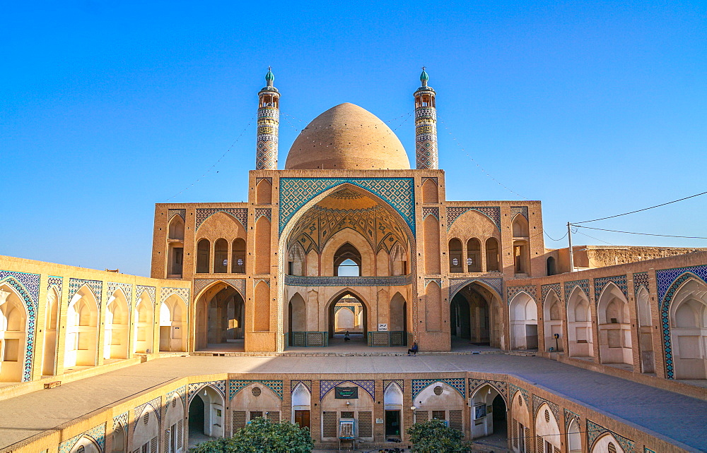 Agha Bozorg Mosque, Kashan, Iran, Middle East