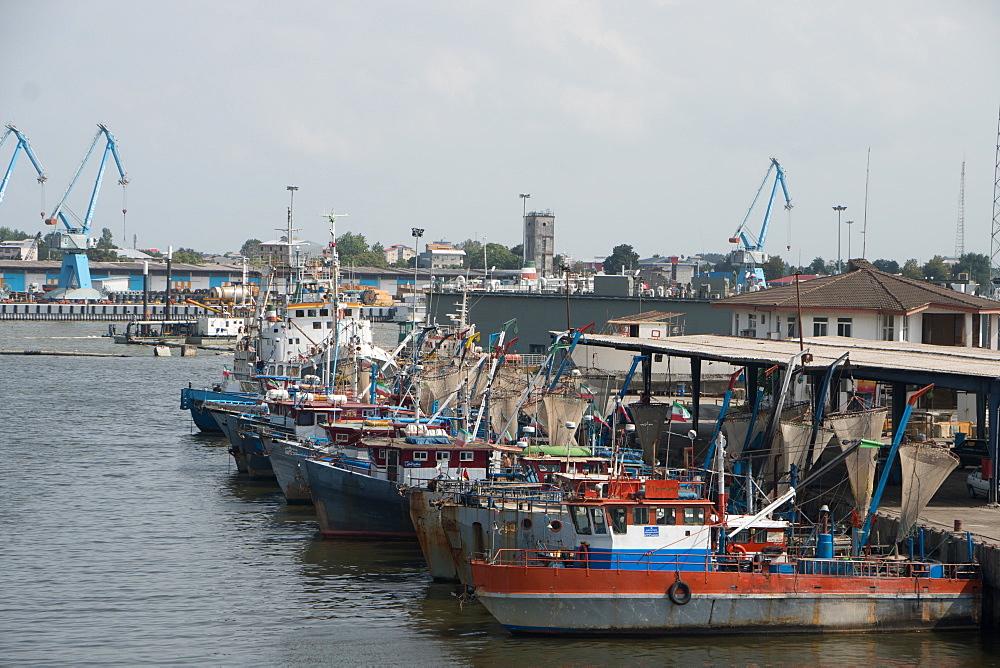 The harbour, Bandar-e Anzali, Iran