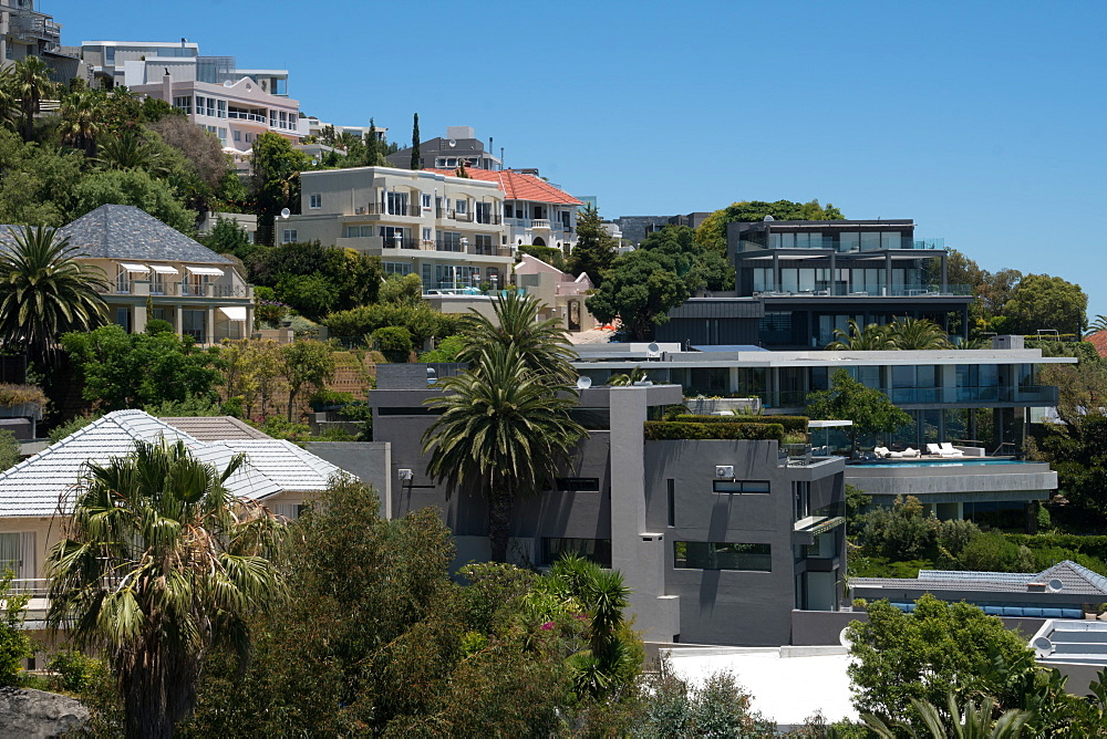 Expensive housing in Bantry Bay, Cape Town, South Africa, Africa - 450-4190