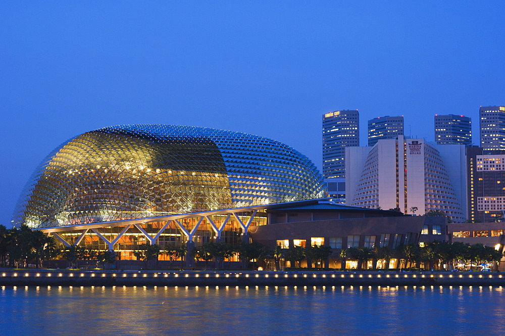 Esplanade Theatres on the Bay, Singapore, South East Asia