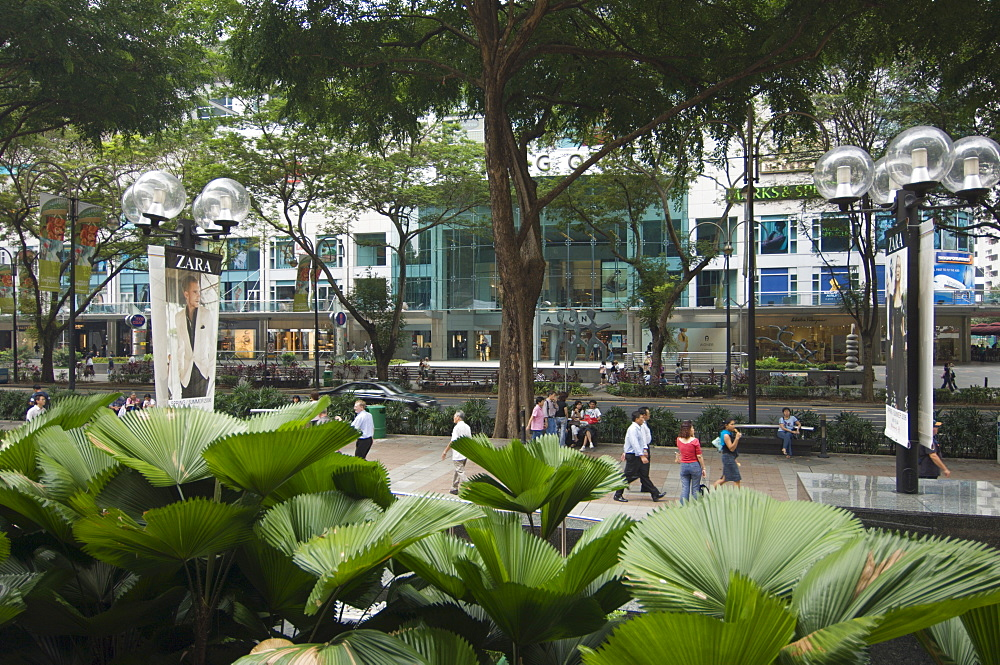 Orchard Road, Singapore's premier shopping street, Singapore, Southeast Asia, Asia