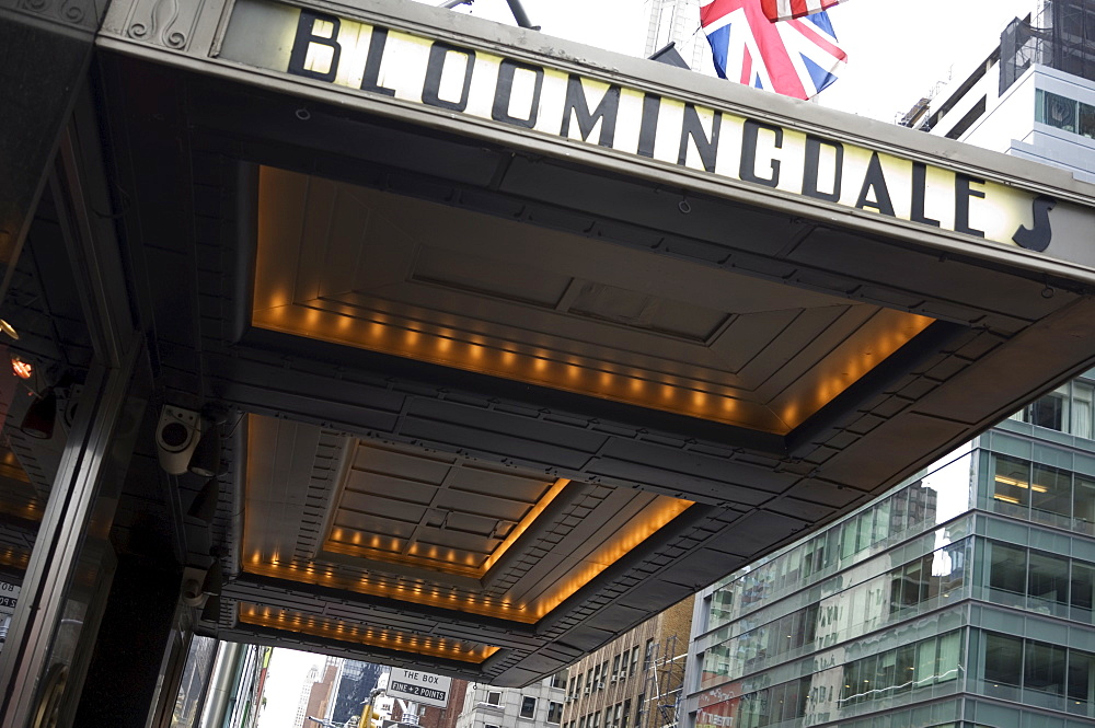 Bloomingdale's department store, Lexington Avenue, Upper East Side, Manhattan, New York City, New York, United States of America, North America - 462-1900
