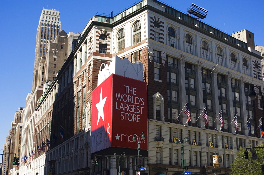 Macy's department store, Manhattan, New York City, New York, United States of America, North America