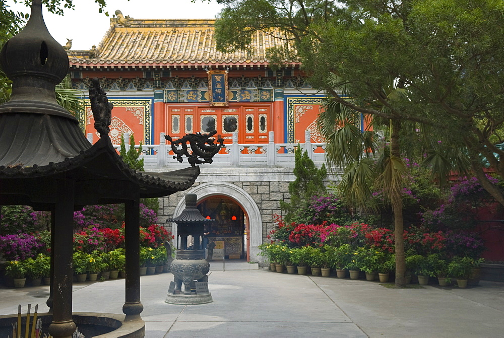Po Lin Monastery, Lantau Island, Hong Kong, China, Asia