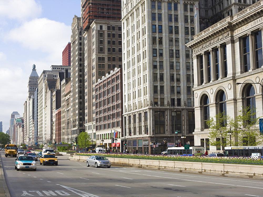 South Michigan Avenue, Chicago, Illinois, United States of America, North America - 462-2265