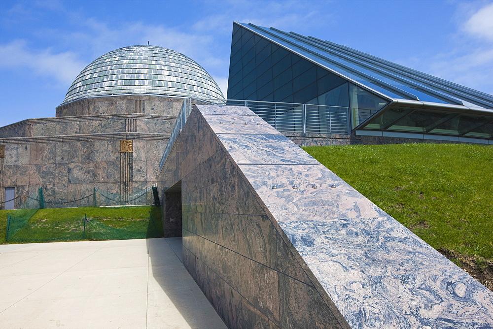 The Adler Planetarium, Chicago, Illinois, United States of America, North America