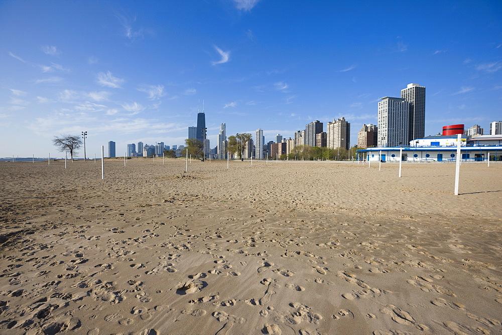 Oak Street Beach, Chicago, Illinois, United States of America, North America