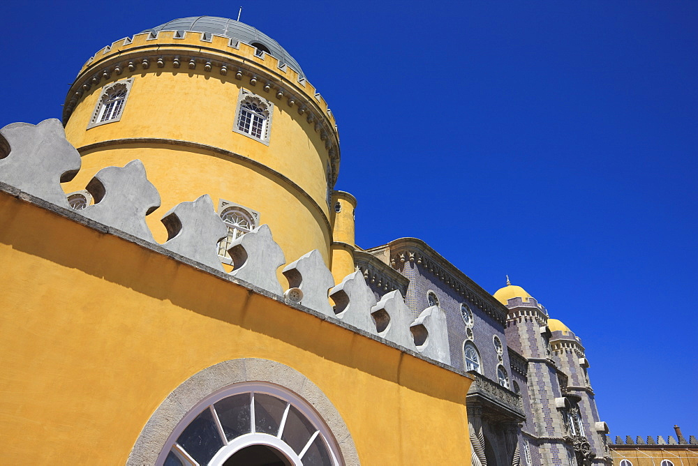 Pena National Palace, UNESCO World Heritage Site. Sintra, Portugal, Europe