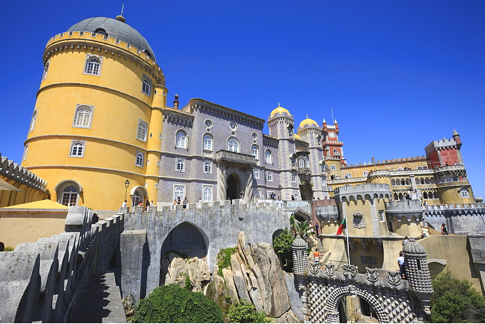 Pena National Palace, UNESCO World Heritage Site, Sintra, Portugal, Europe - 462-2443