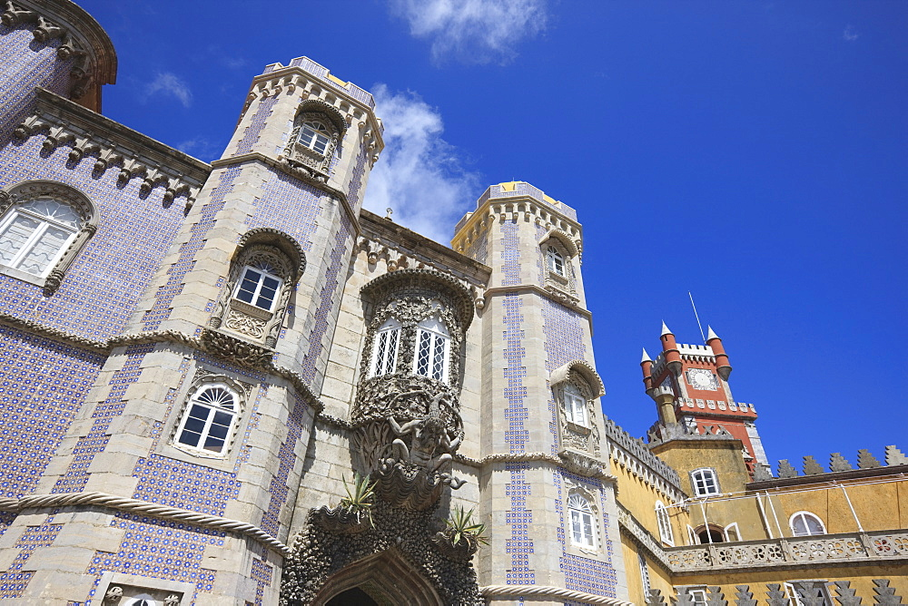 Pena National Palace, UNESCO World Heritage Site, Sintra, Portugal, Europe - 462-2446