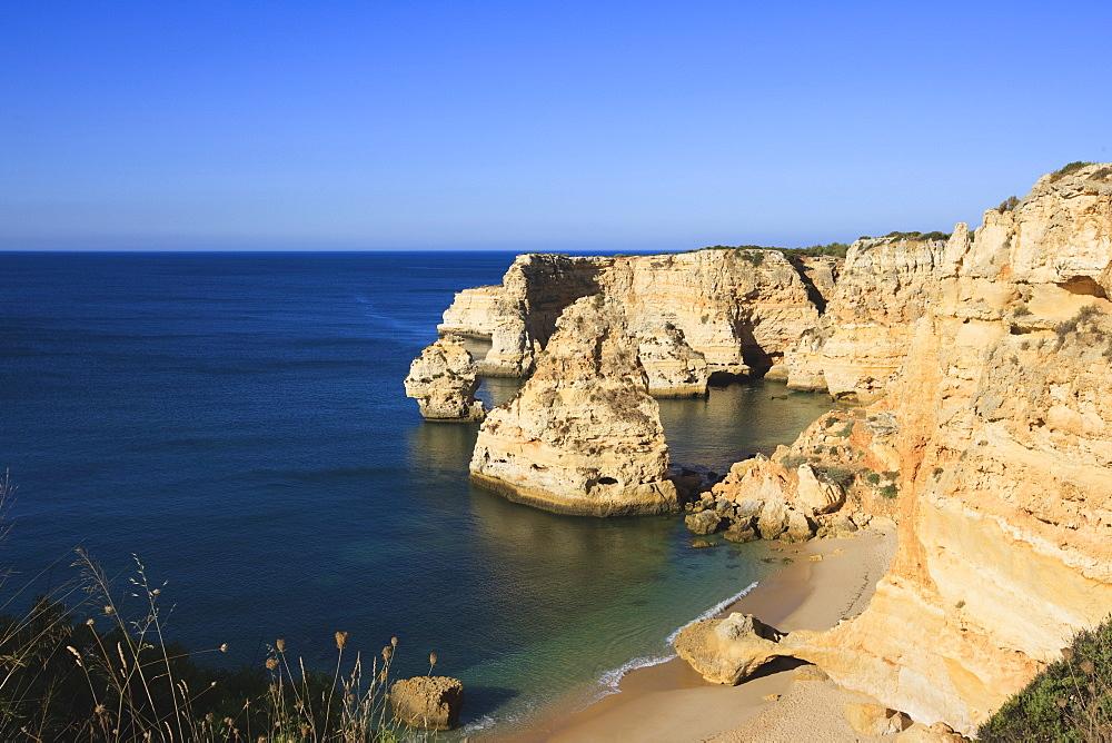 Praia da Marinha, Algarve, Portugal, Europe - 462-2475