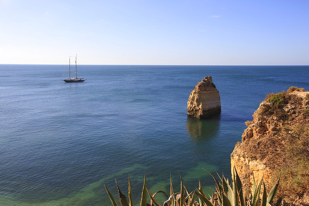 Praia da Marinha, Algarve, Portugal, Europe - 462-2476