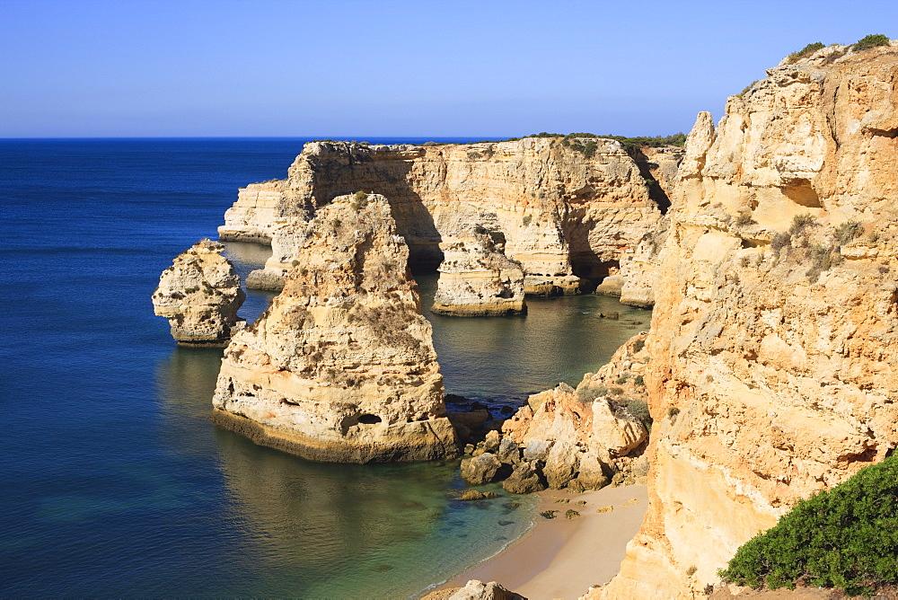 Praia da Marinha, Algarve, Portugal, Europe - 462-2477