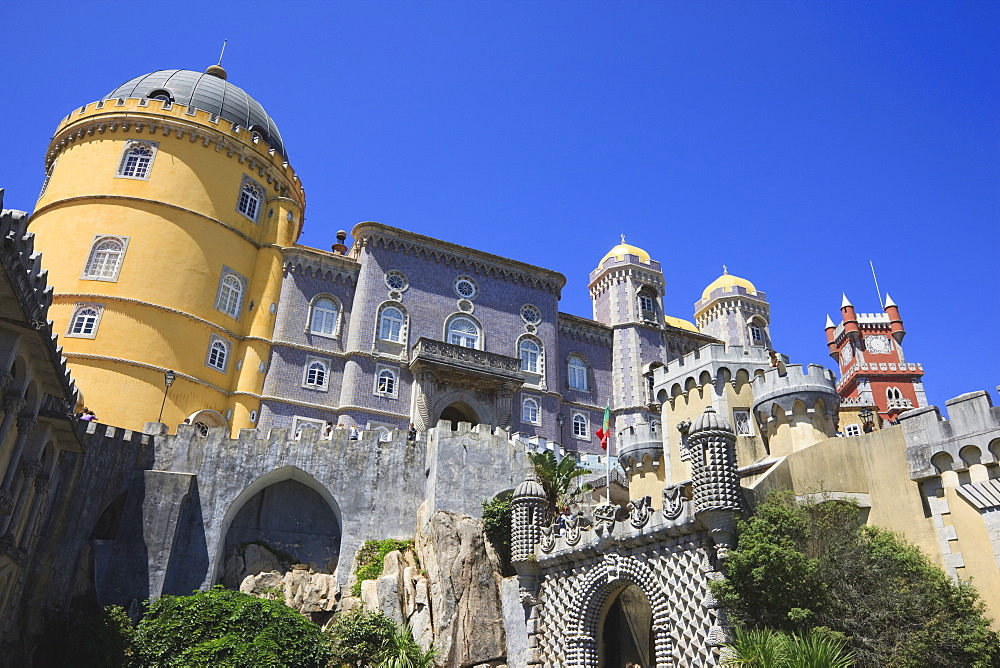 Pena National Palace, Sintra, UNESCO World Heritage Site, Portugal, Europe - 462-2495