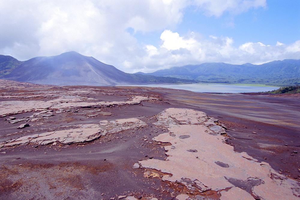 Yasur volcano, active volcano on island of Tanna, Vanuatu, South Pacific islands, Pacific