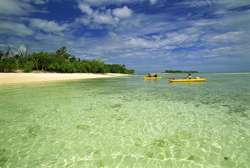 Sea kayaking with Cutting Edge Adventures, Efale, Vanuatu, Pacific Islands, Pacific