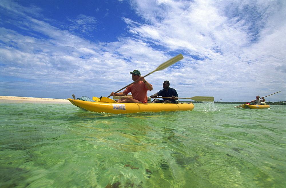 Sea kayaking with Cutting Edge Adventures, Efale, Vanuatu, Pacific Islands, Pacific