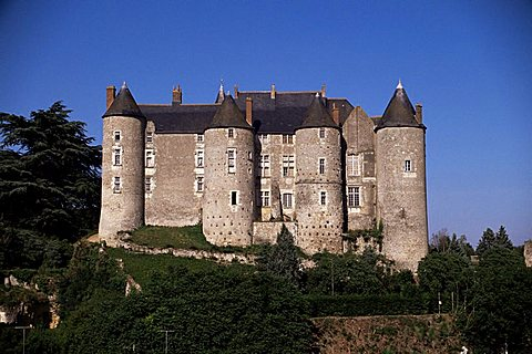 Castle at Luynes, UNESCO World Heritage Site, Indre-et-Loire, Centre, France, Europe