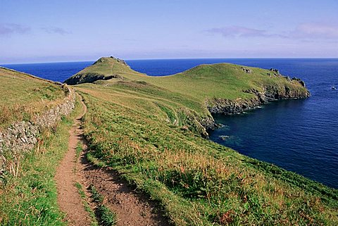 Pentire Point, Cornwall, England, United Kingdom, Europe
