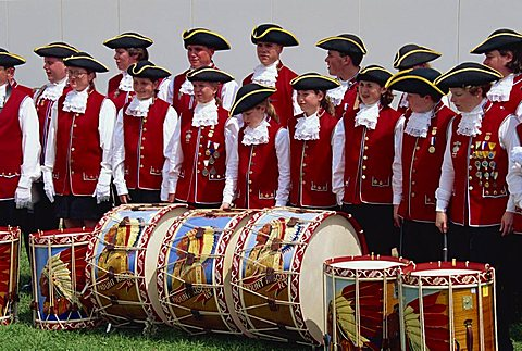 Pipe band, Florida, United States of America, North America