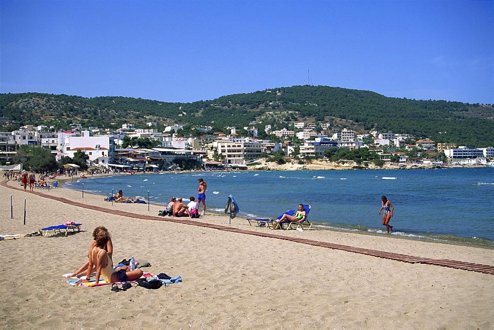 Aghia Marina, Aegina, Argo Saronic Islands, Greek Islands, Greece, Europe