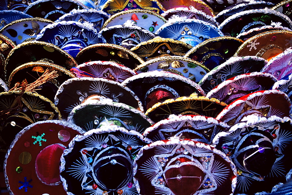 Mini hats, Mexico, North America - 478-2966