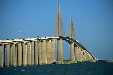 Sunshine Skyway, Tampa Bay, Gulf Coast, Florida, Unnited States of America, North America
