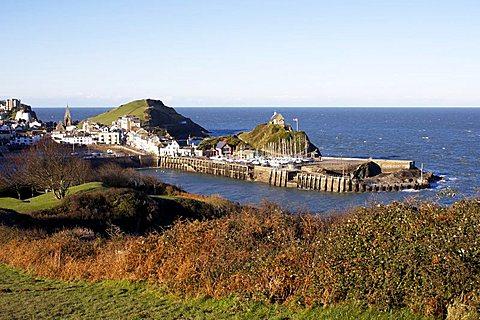Ilfracombe Harbour, Ilfracombe, Devon, England, United Kingdom, Europe