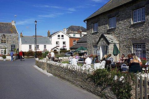 Afternoon Tea, Mortehoe, Devon, England, United Kingdom, Europe