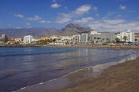 Playa de Troya, Playa de las Americas, Tenerife, Canary Islands, Spain, Atlantic, Europe
