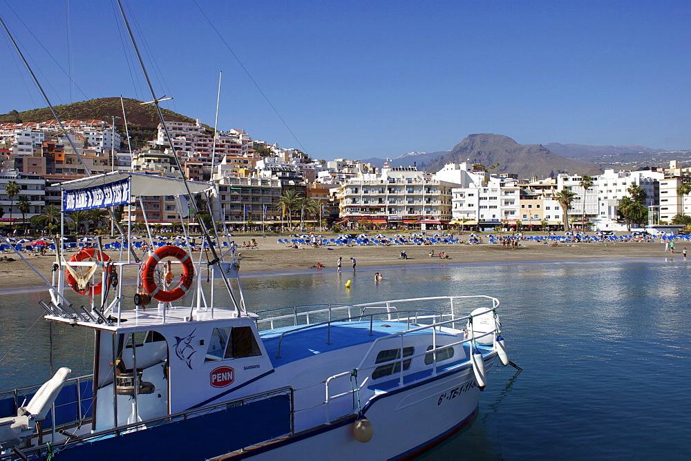 Playa de Los Cristianos, Los Cristianos, Tenerife, Canary Islands, Spain, Atlantic, Europe