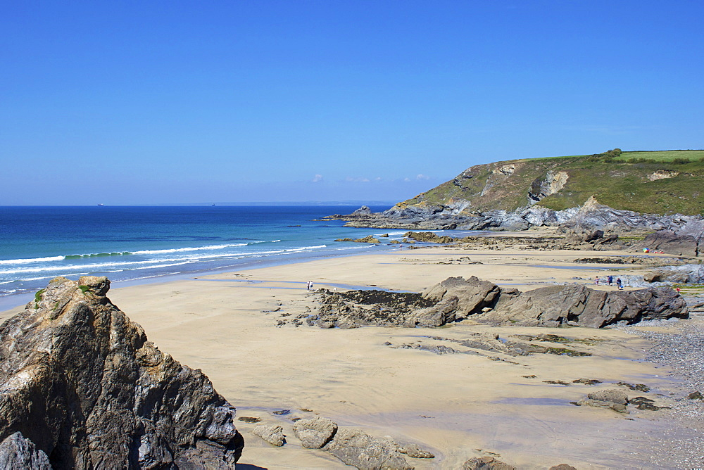 Dollar Cove, Gunwalloe, Lizard Peninsula, Cornwall, England, United Kingdom, Europe
