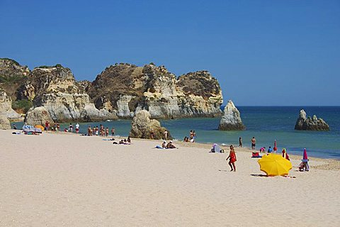Praia Acessivel, Alvor, Algarve, Portugal, Europe