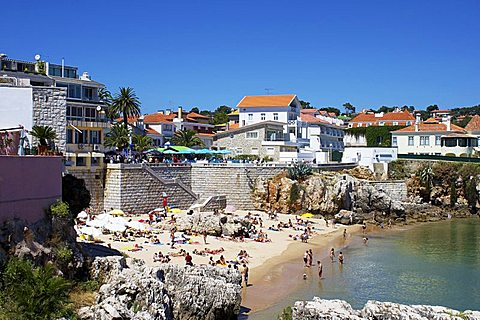 Rainha Beach, Cascais, Portugal, Europe
