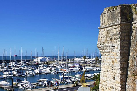 Marina and Old Fort, Cascais, Portugal, Europe - 478-4763