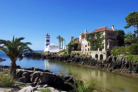 Lighthouse, Cascais, Portugal, Europe
