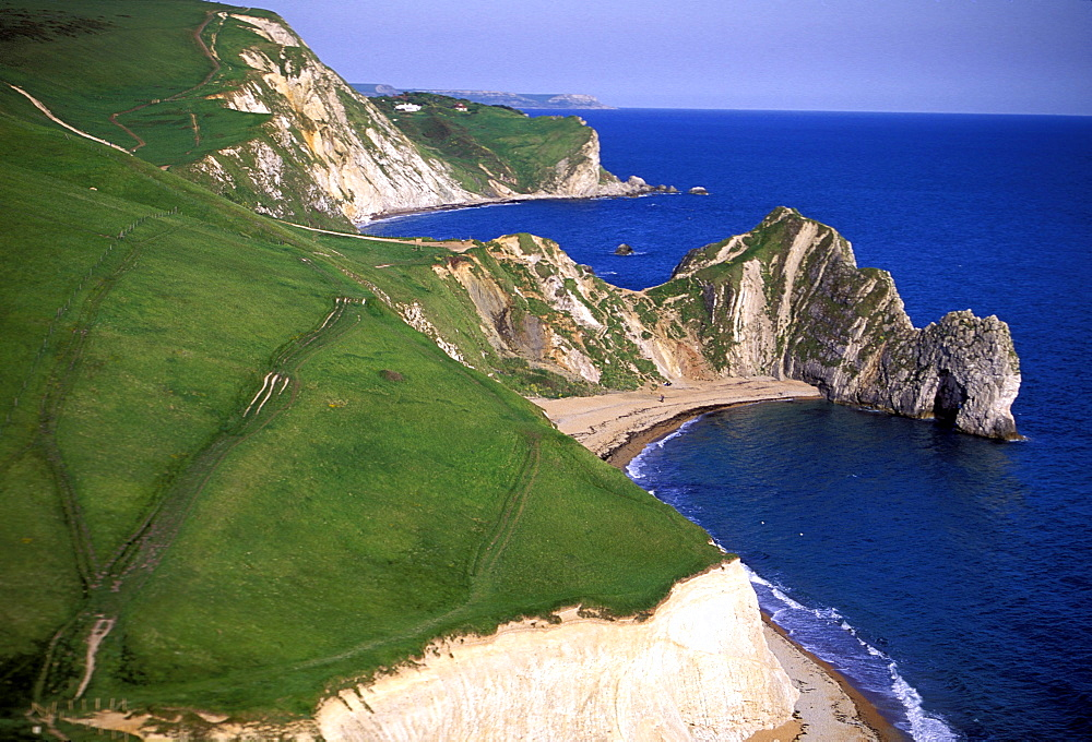 Durdle Door, near Lulworth, Dorset, England, UK, Europe