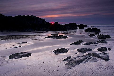 Combesgate Beach, Devon, England, United Kingdom, Europe
