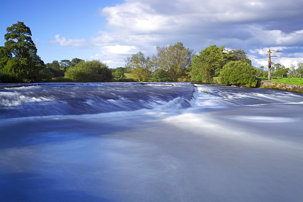 River Exe near Brampford Speke, Devon, England, United Kingdom, Europe