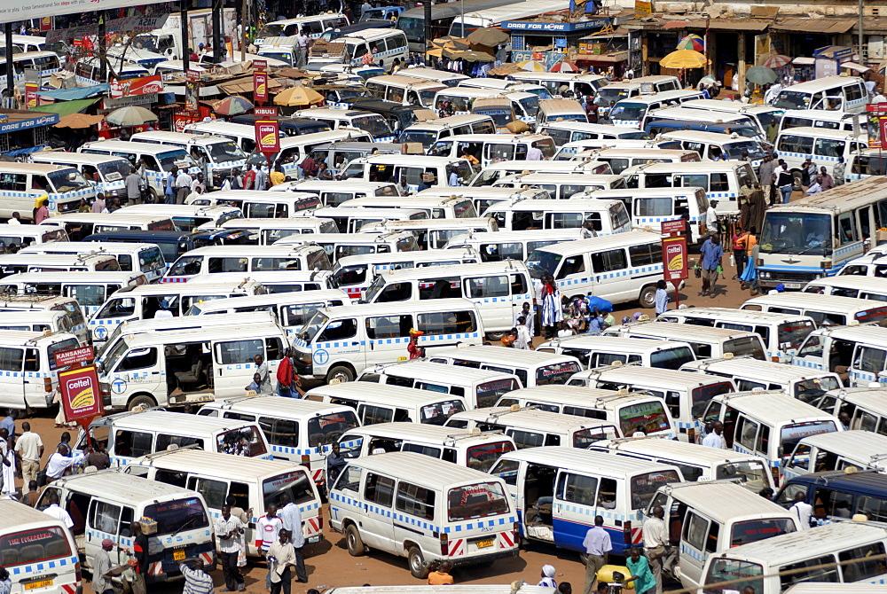 Nakasero Market, Kampala, Uganda, East Africa, Africa