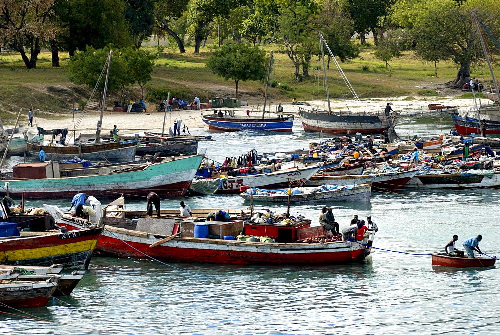 Fishing harbour, Dar Es Salaam, Tanzania, East Africa, Africa
