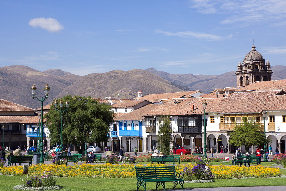 Plaza de Armas, Cuzco, Peru, South America