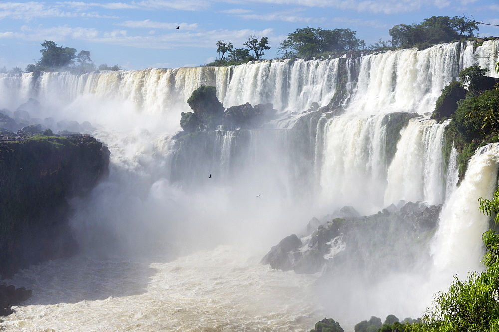 Iguazu Falls, Argentinian side, UNESCO World Heritage Site, Argentina, South America