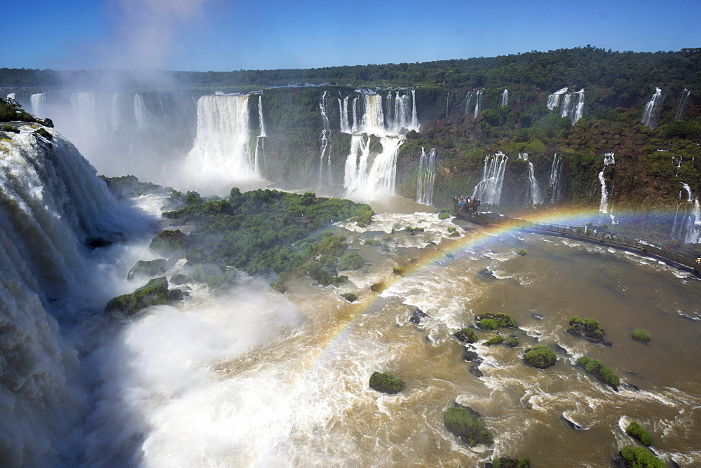 Iguacu Falls, Iguacu National Park, UNESCO World Heritage Site, Brazil, South America