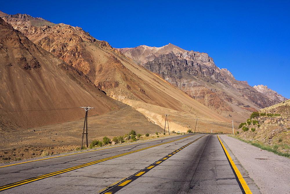 Main road, Atacama Desert, Argentina, South America
