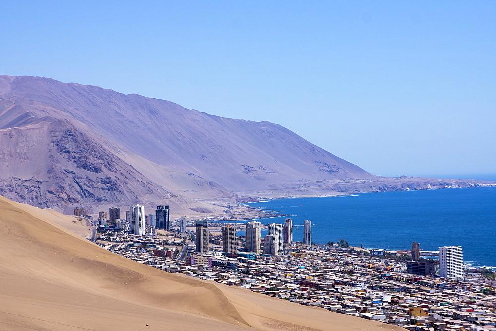 Iquiquie, Atacama desert, Chile, South America